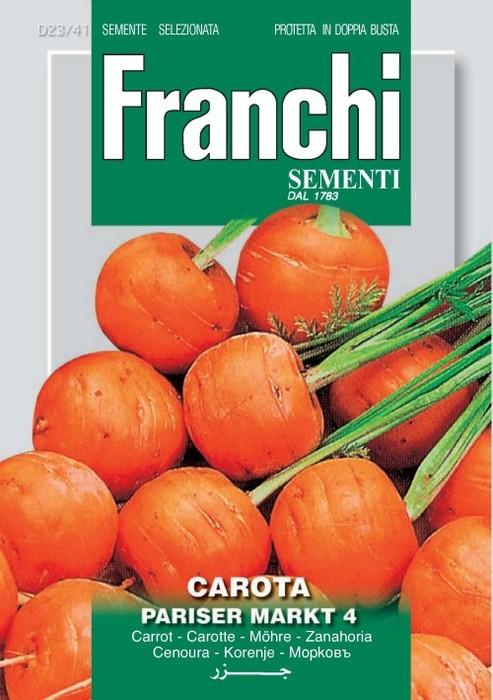 Carotte Parisier Market